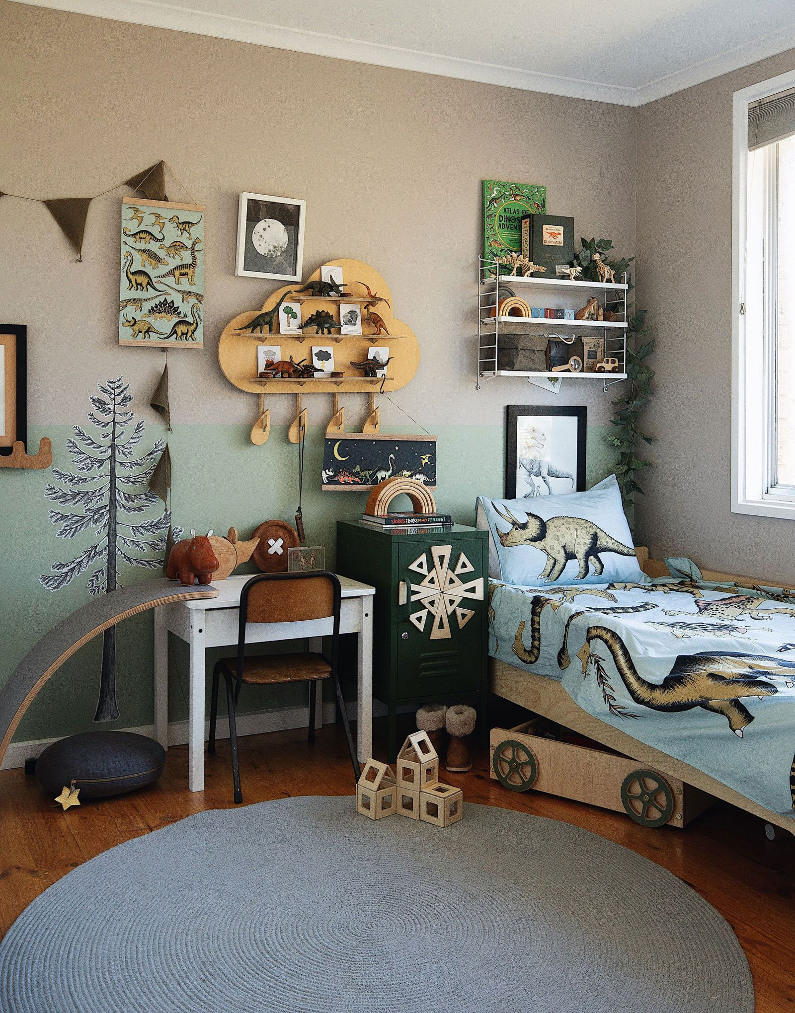 Riley S Earthy And Warm Dinosaur Room Roomtour Dinosaur Room Decor Dinosaur Room Kids Bedroom Designs