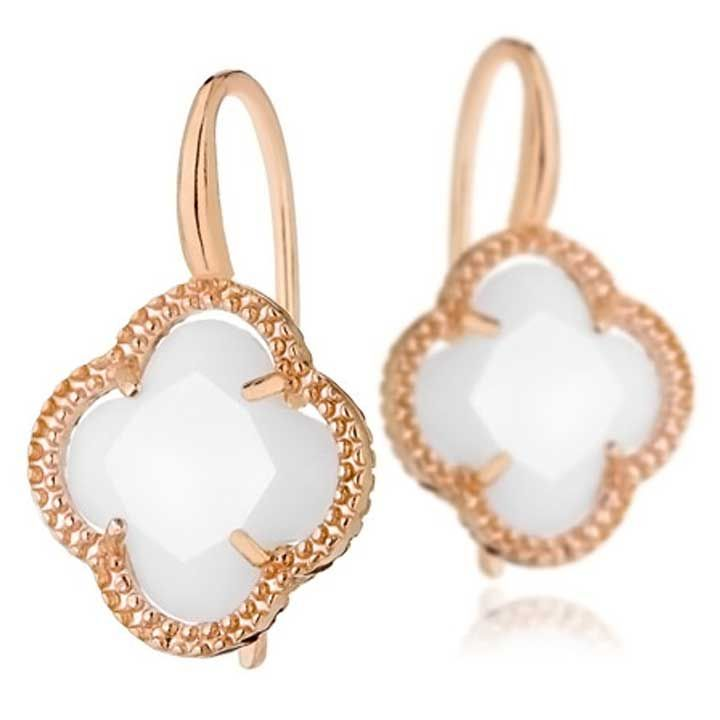Clio Blue Precious pearl earrings PUk5MjI69