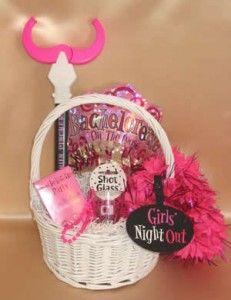 bachelorette gift basket