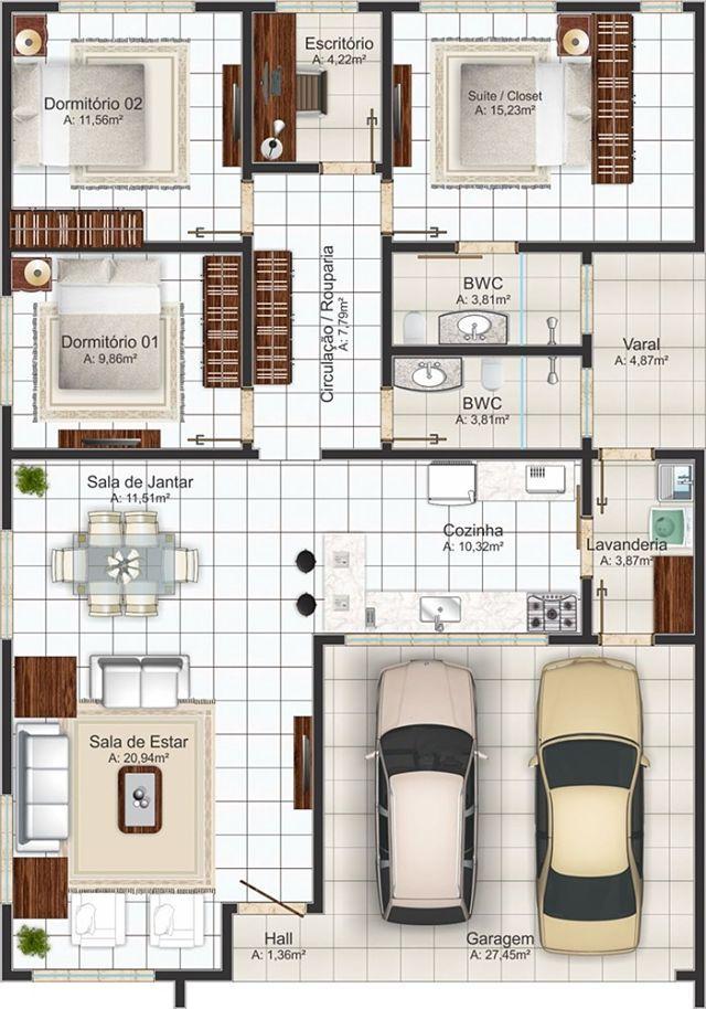 Casa Designer 3d Home Makeover App For Ipad: PLANO DE CASA DE 146 M2