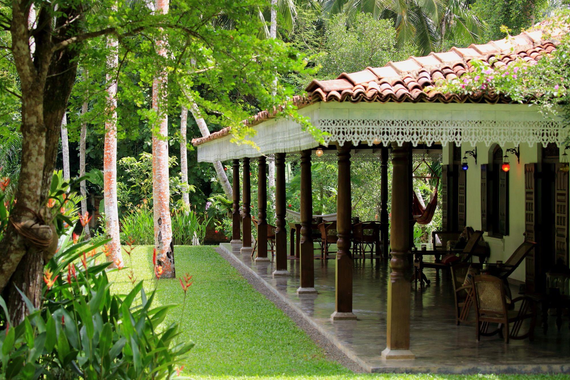 Véranda de la Villa Sepalika - Galle - Sri Lanka