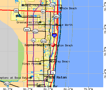 Boynton Beach Florida Map Boynton Beach Map | Boynton beach, Florida, Beach