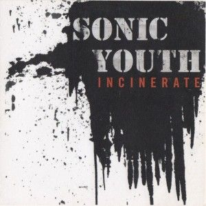 Sonic Youth – Incinerate (single cover art)