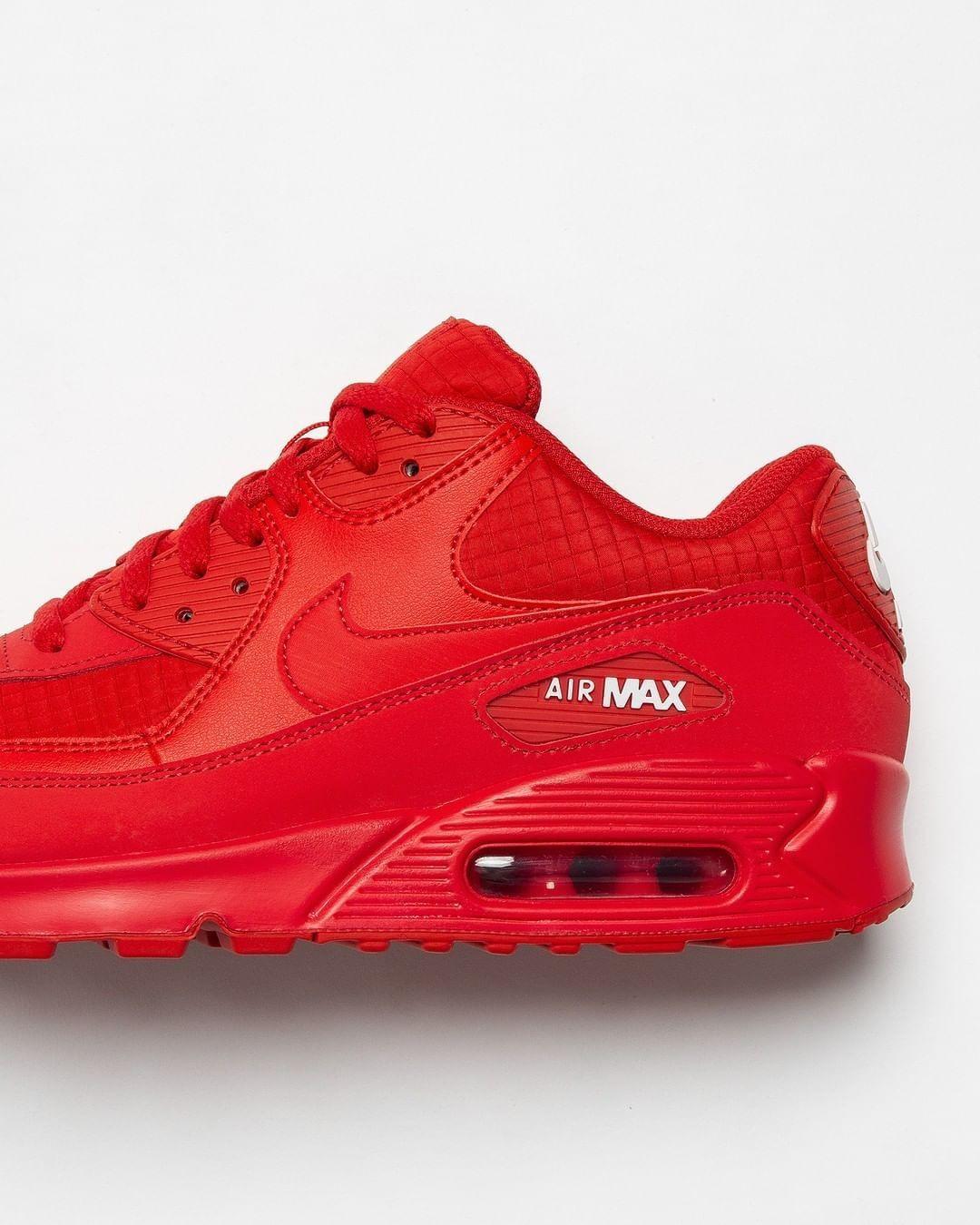 Nike Air Max 90 Essential in rot AJ1285 602 | Neue sneaker