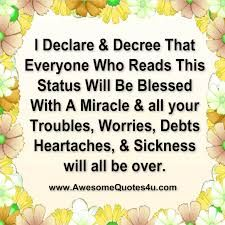 I Declare And Decree Everyday Prayers Names Of Jesus