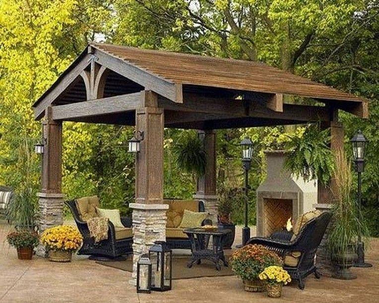 10 Diy Home Decorating Ideas On A Budget Tips Techniques Backyard Gazebo Backyard Garden Landscape Small Backyard Gardens