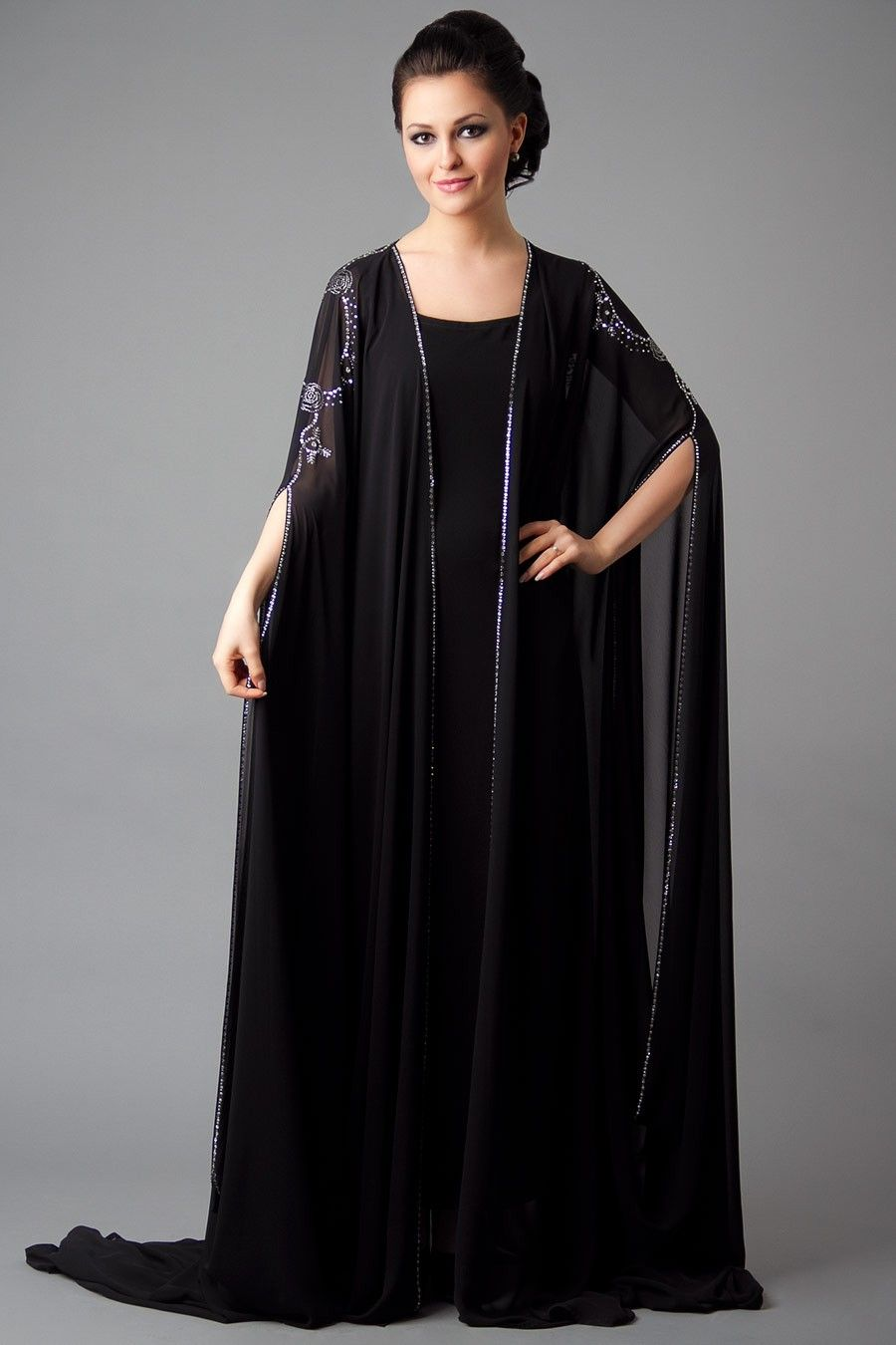 Wear scarf dubai style dresses