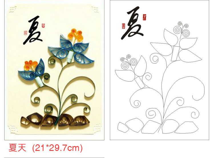 1000+ images about quilling templates on Pinterest | Quilling