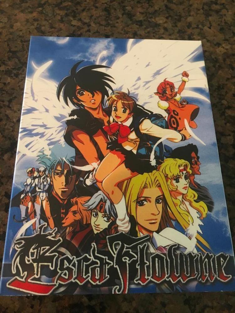 Anime japanese escaflowne3 dvd set englishchinese
