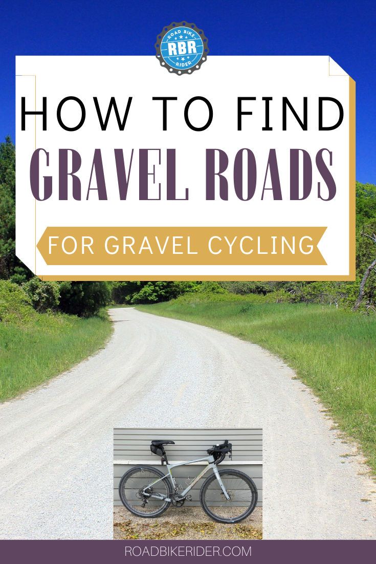 How To Find Gravel Roads Gravel Road Cycling Site Bike Route