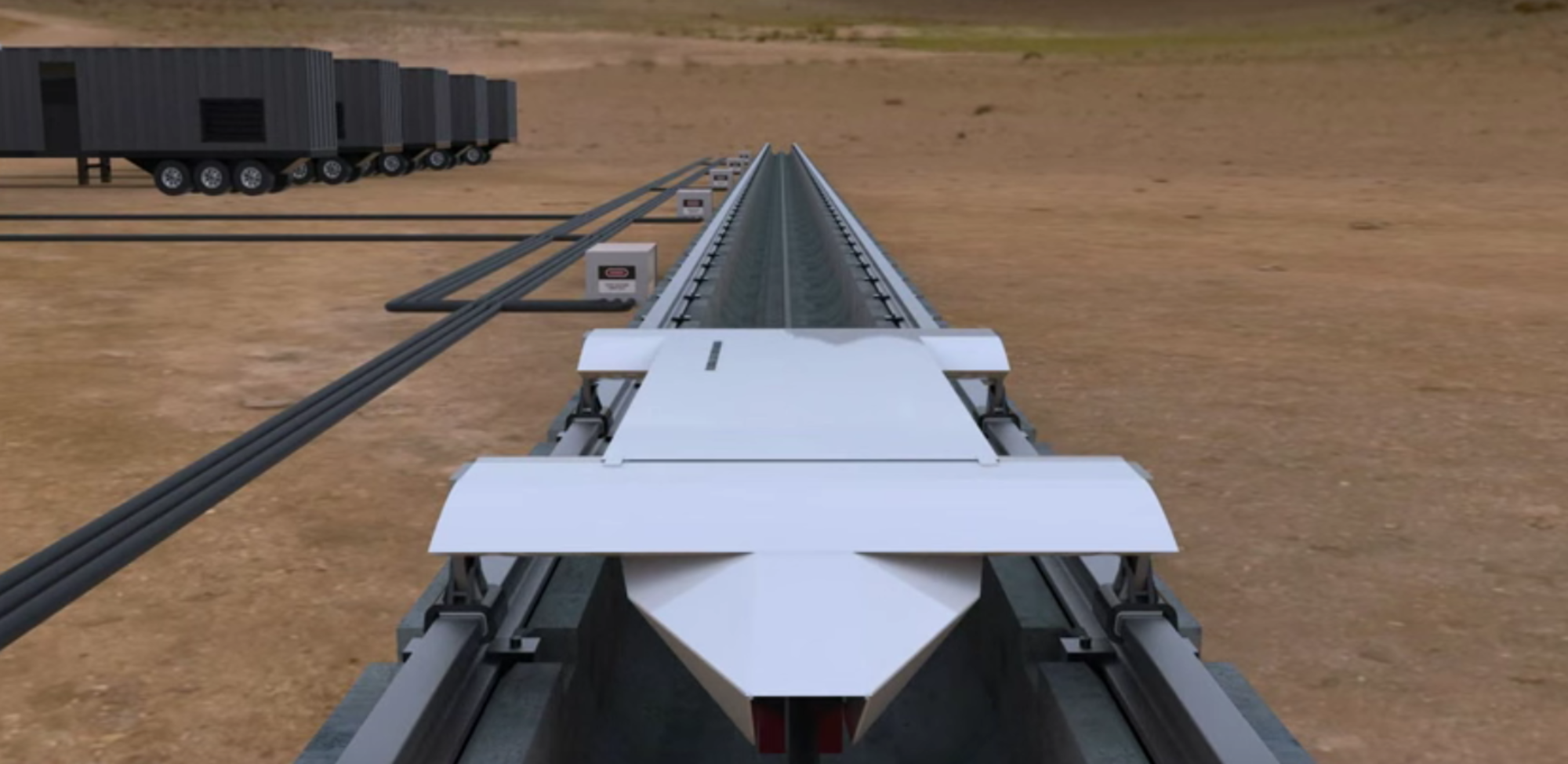 Hyperloop Technologies announced that it will build a test