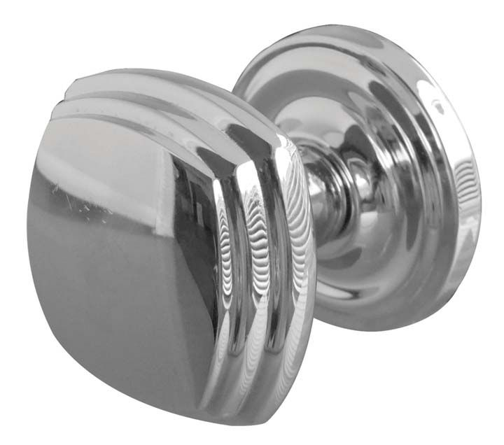 Door Furniture Direct Polished Chrome Square Interior Door Knobs At Door  Furniture Direct We Sell High Quality Products At Great Value Including  Chrome ...