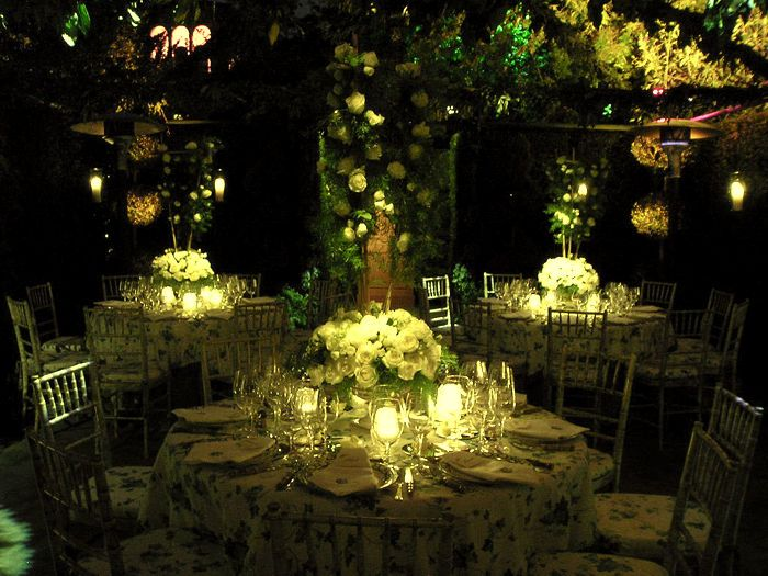 boda al aire libre de noche | la boda de mis sueños | pinterest