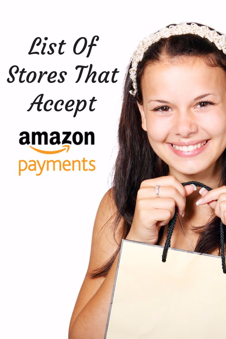Stores That Accept Amazon Payments Amazon Credit Card Finance Saving Payment