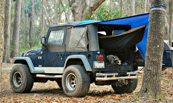 Golden Eagle Double Camping Hammock Perfect Sleeping Platform