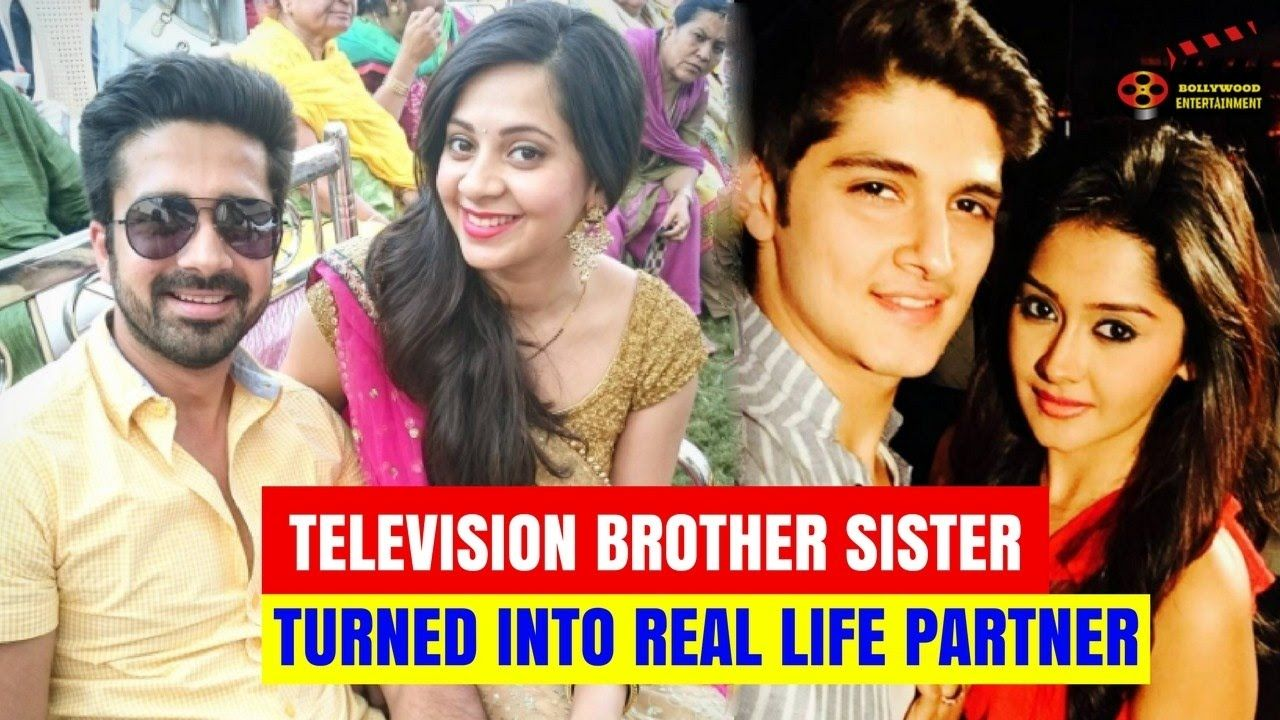 Reel Life Television Brother Sister Turned Into Real Life Partner