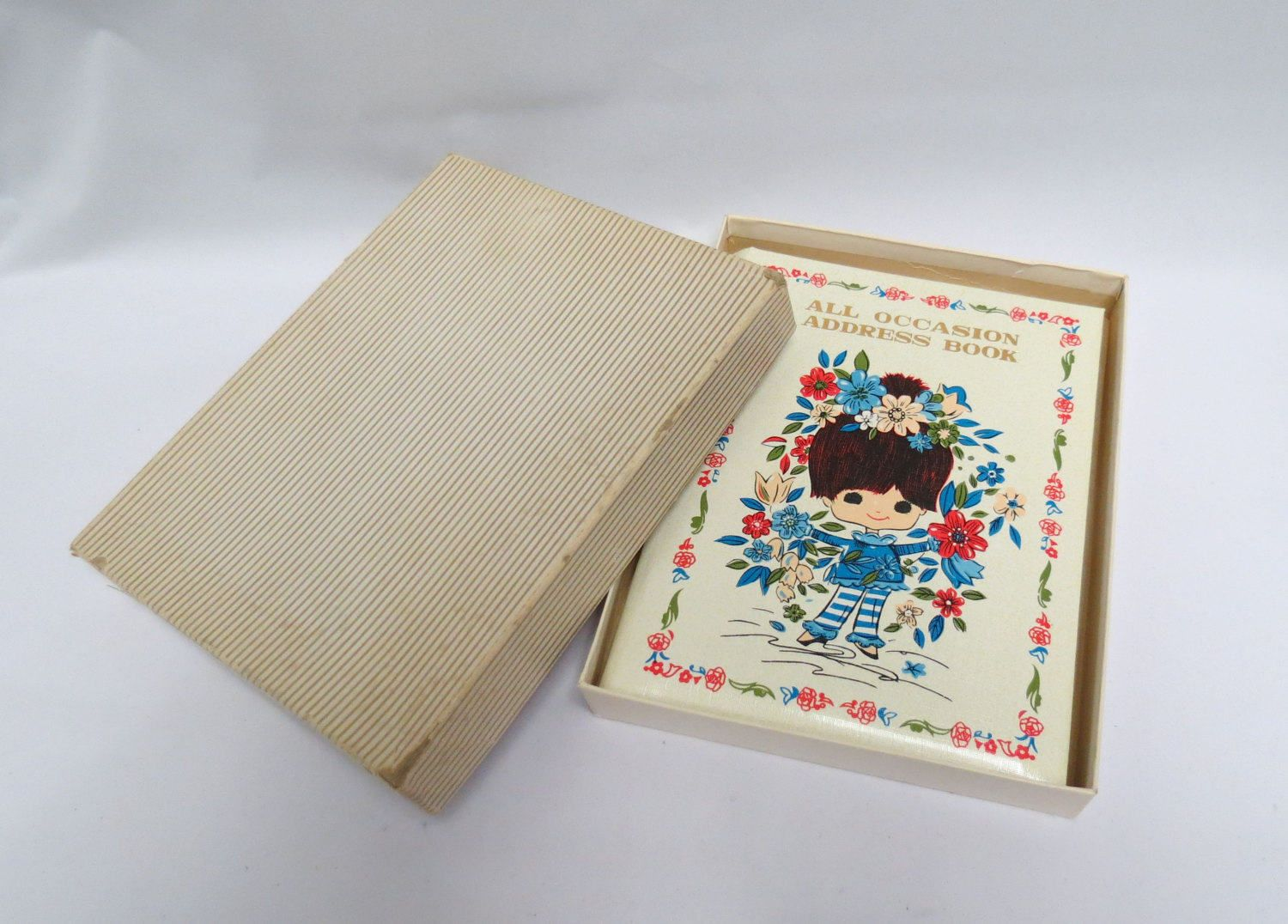 Vintage Address Book Mint In Box American Greetings By