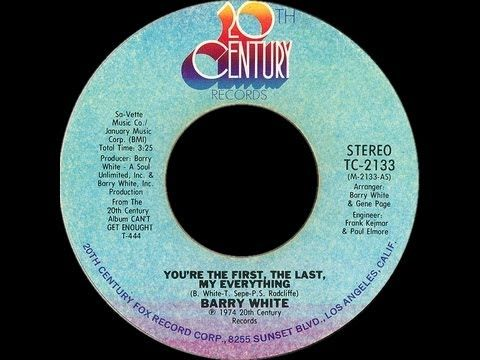 Barry White You Re The First The Last My Everything 1974 Disco