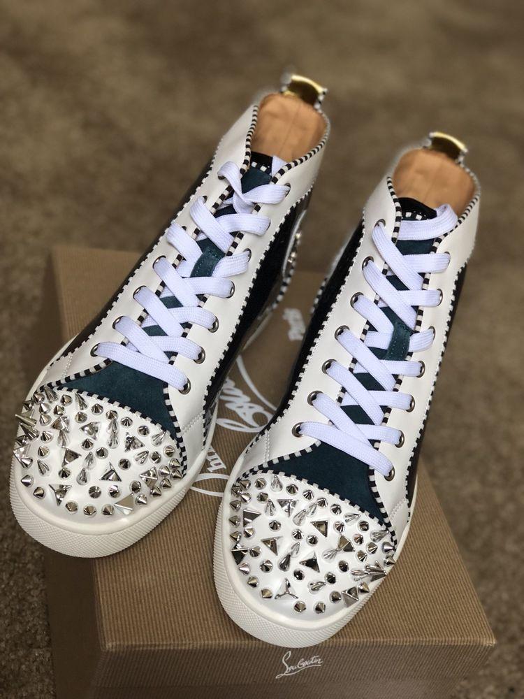 buy online e980a 71ca6 christian louboutin men's shoes 44 #fashion #clothing #shoes ...