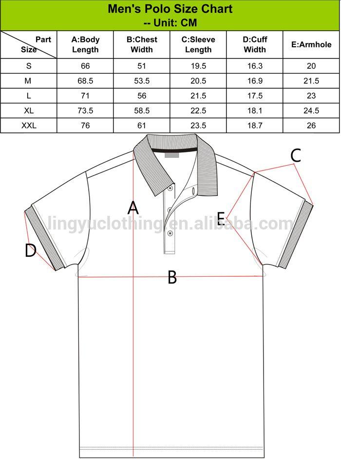 528a6465ed324d7ecdd9b738f3e1f76b polo shirt size chart picture Αναζήτηση google size chart