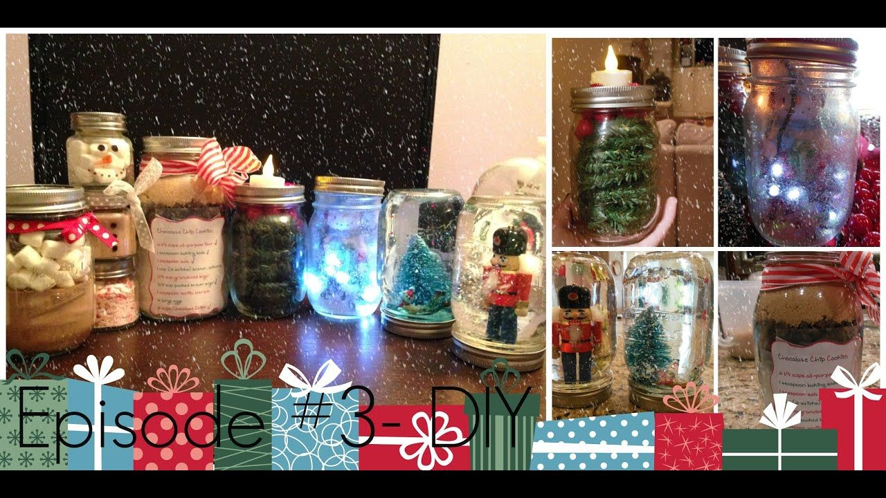 Episode 3 Diy Mason Jars Gifts Decorations Youtube Mason Jar Gifts Diy Mason Jar Gifts Mason Jar Diy