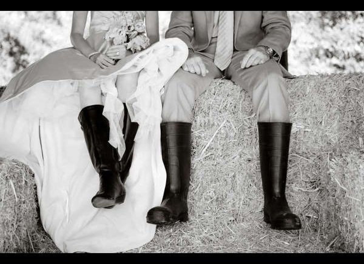 photos 17 ideas for an elegant equestrian wedding western boots Wedding Riding Boots i would love to do a pic like this with him in western boots and me wedding reading book of ruth