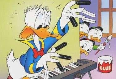 Donald duck anni di sfortuna e simpatia