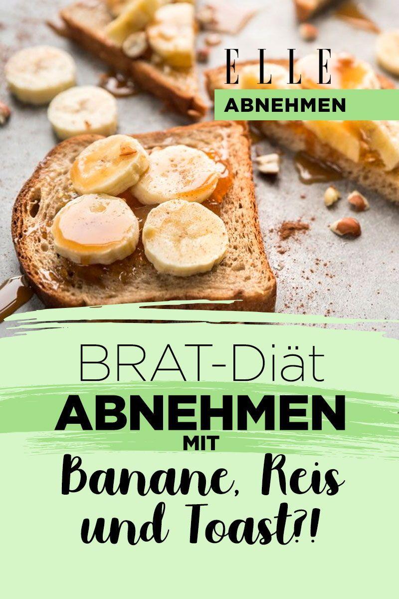 BRAT-Diät: Kann man mit Banane, Toast und Co. wirklich abnehmen?