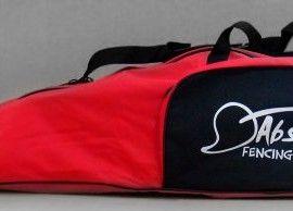 55a42ebf01 AF Standard Fencing Bag Red Black Pocket