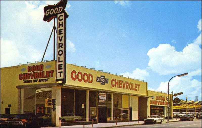 Vintage Dealership Photo Alameda Chevrolet California Pictures