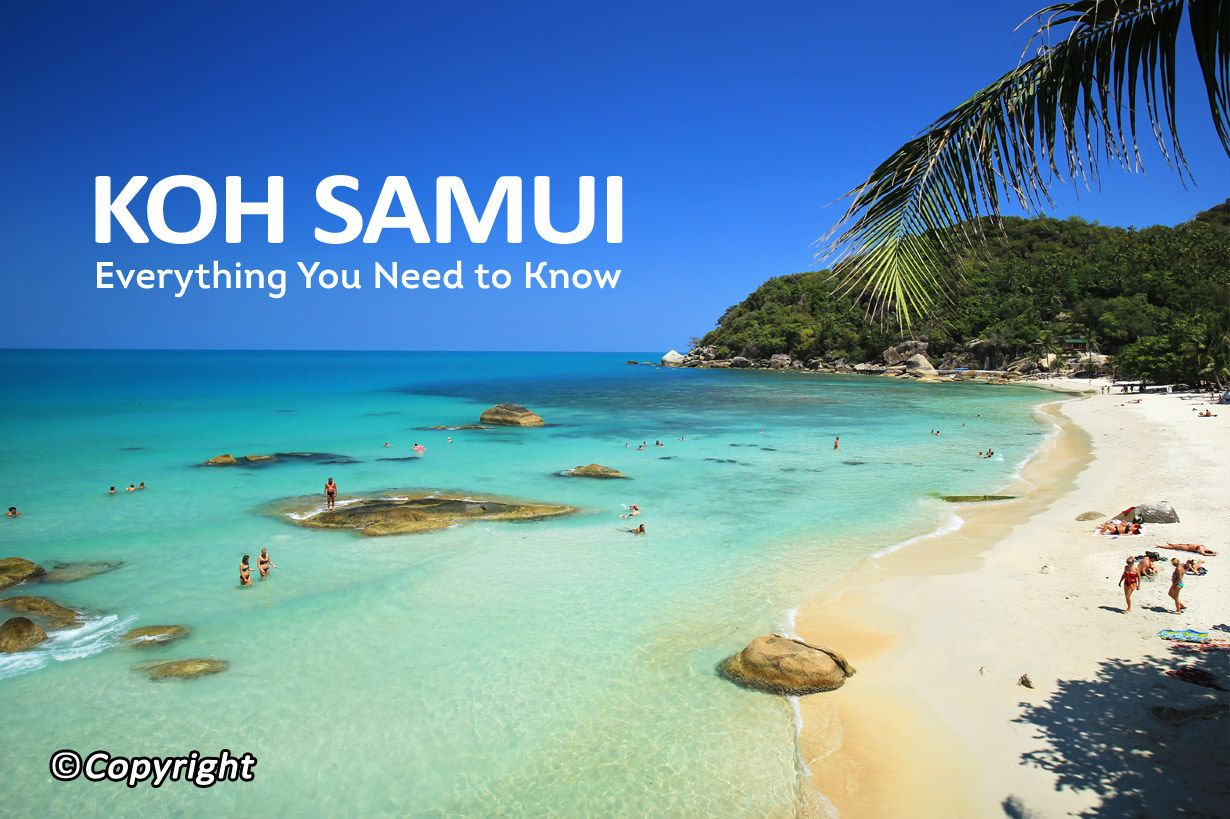 Koh samui maps discover one the most famous thailands travel destination samui island