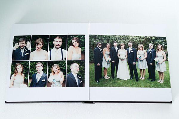 Wedding Album Example - Seattle Wedding Photographer | Wedding photo ...