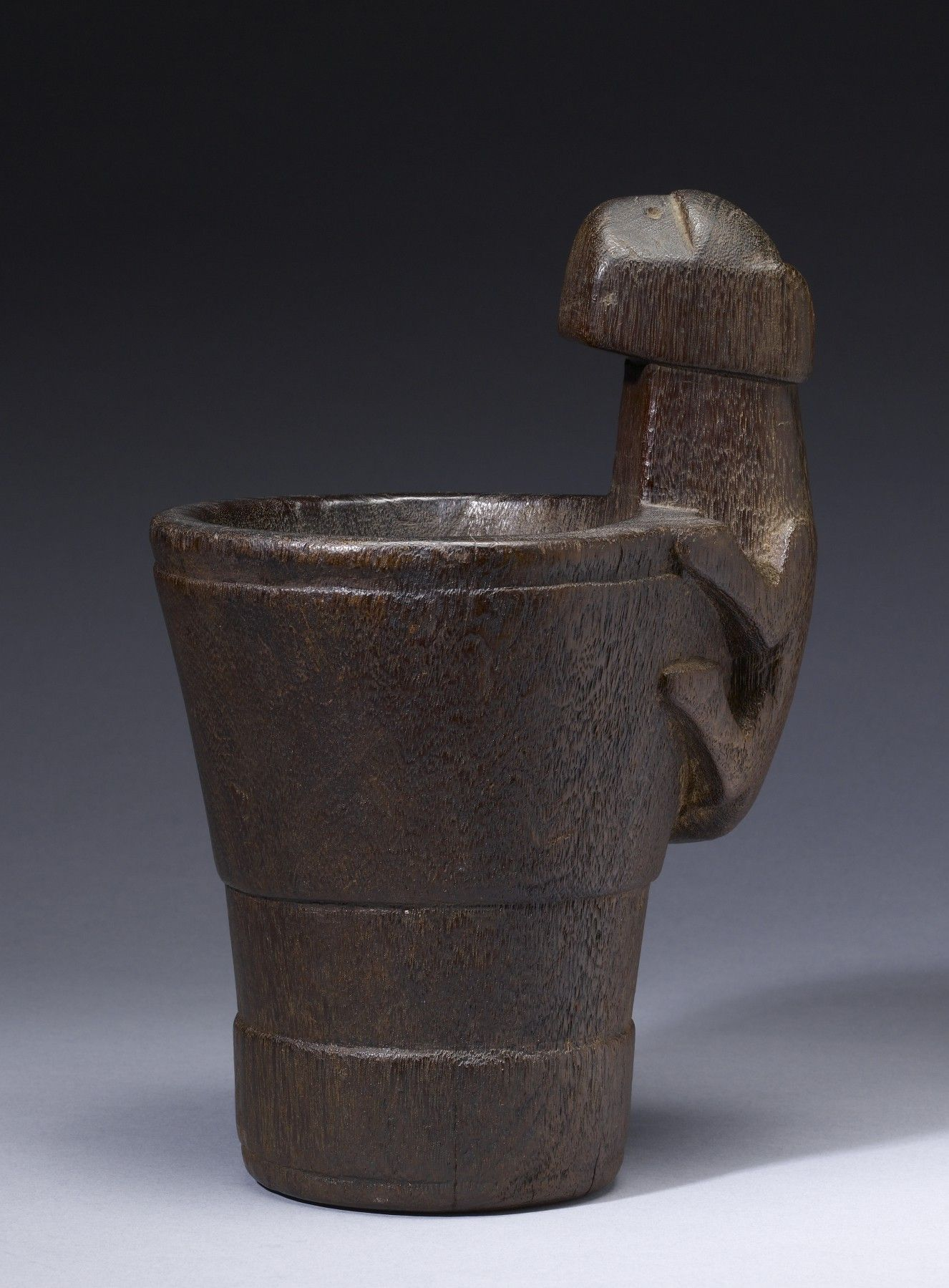 """Kero with Jaguar Handle Peru 