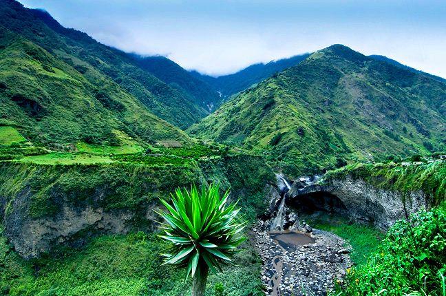 Tropical Landscape Around Banos Ecuador Anthony John Coletti Photography Ecuador Landscape Ecuador Photography Ecuador