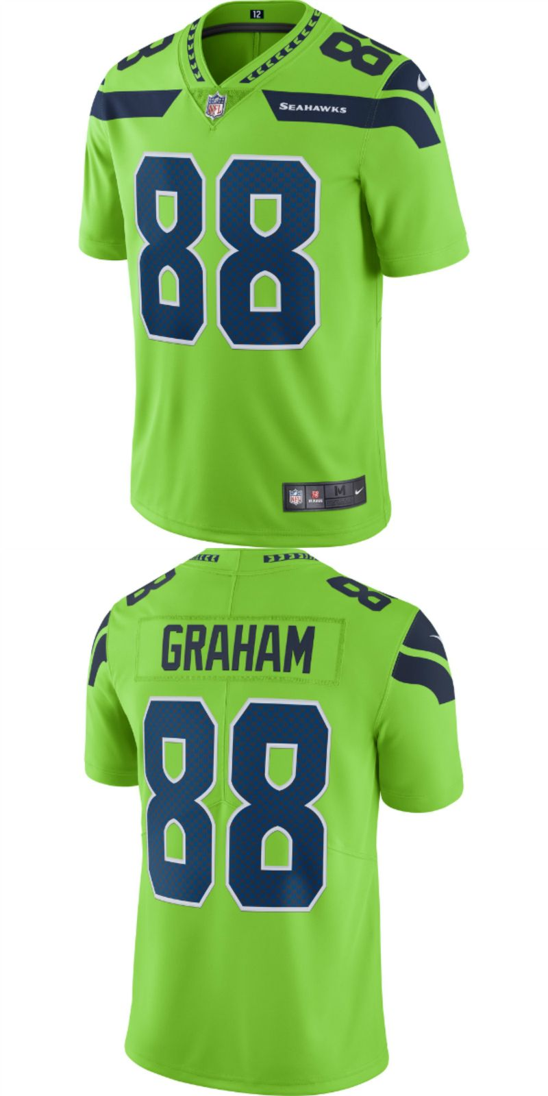 official photos 91613 16356 UP TO 70% OFF. Jimmy Graham Seattle Seahawks Nike Vapor ...