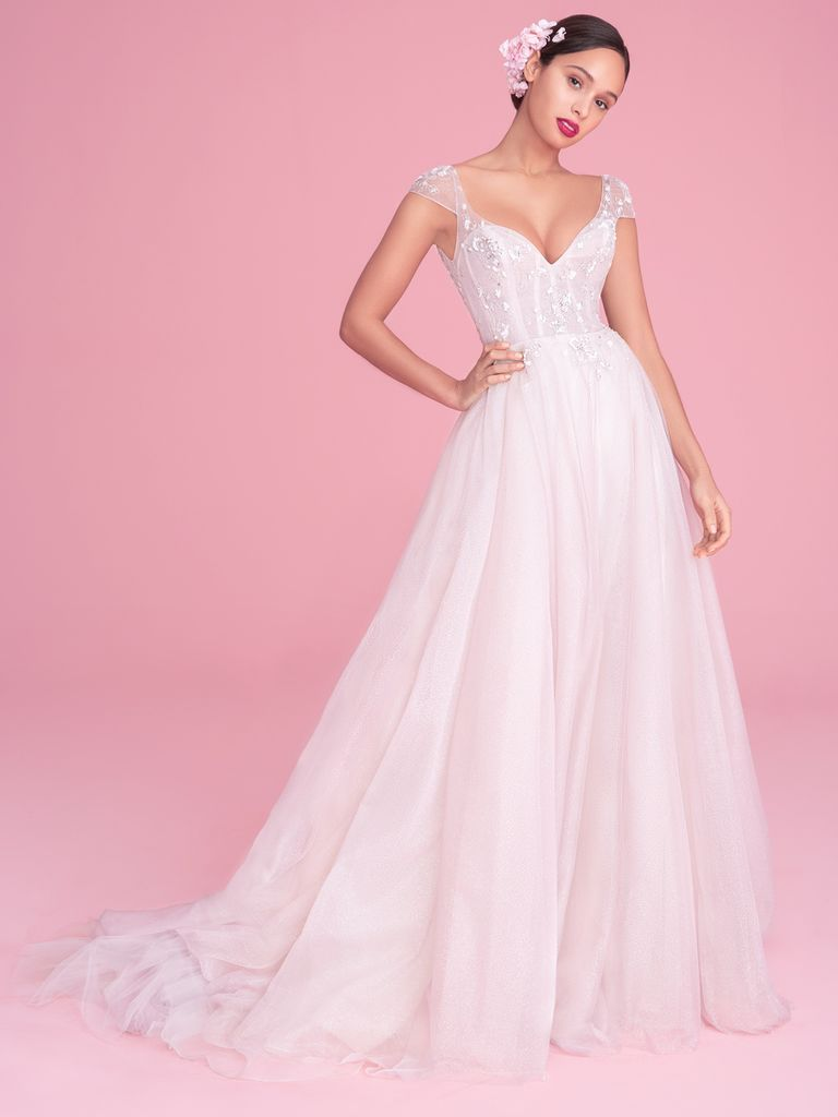 Blush by hayley paige fall romantic and glamorous wedding