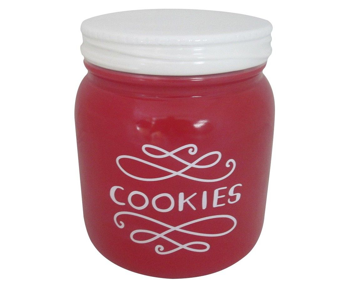 Threshold� Earthenware Cookie Jar - Red