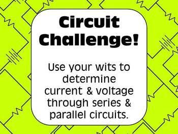 Electricity Challenge: Voltage & Current in Series ...