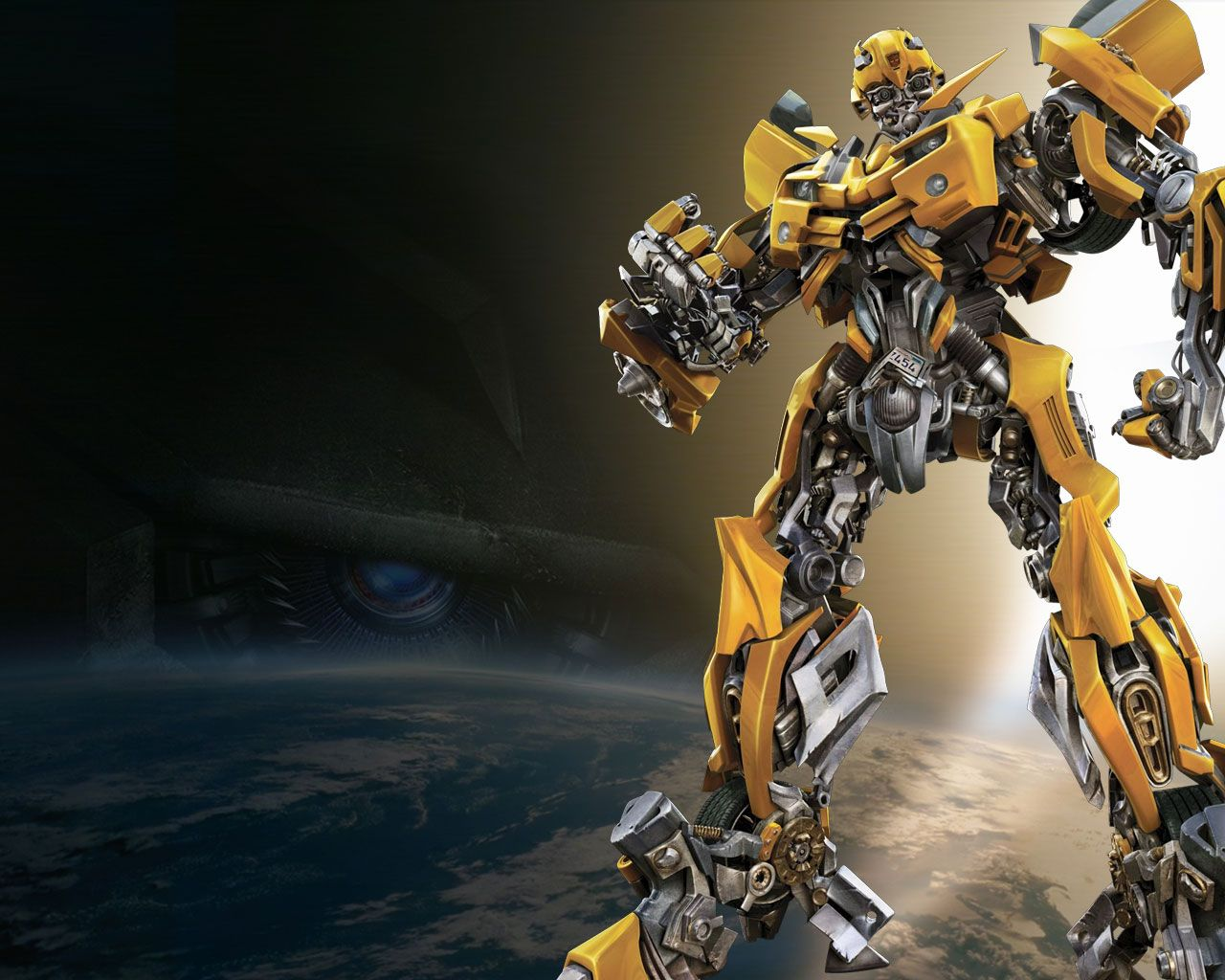 bumblebee from transformers movie wallpaper its all a