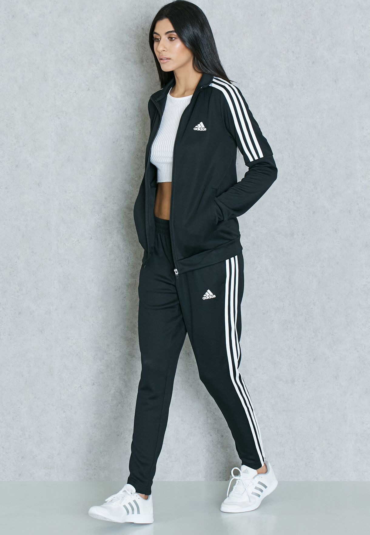 Pin by Francie Clower on Work Out | Adidas jacket outfit