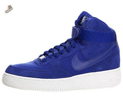 nike air force di alto grande stile scarpe: 653998, profondo blu reale