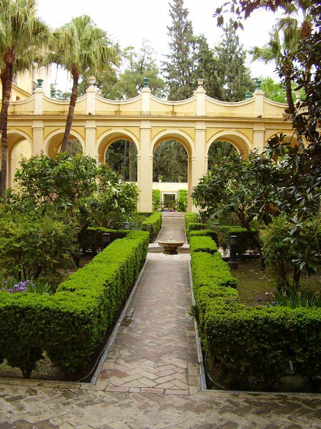 Jardines de los reales alc zares de sevilla andaluc a - Jardines verticales sevilla ...