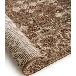 benuta Flachgewebeteppich Cuma Multicolor 240×330 cm – Vintage Teppich im Used-Look benuta