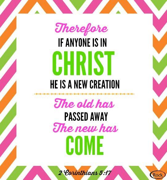 2 Cor. 5:17