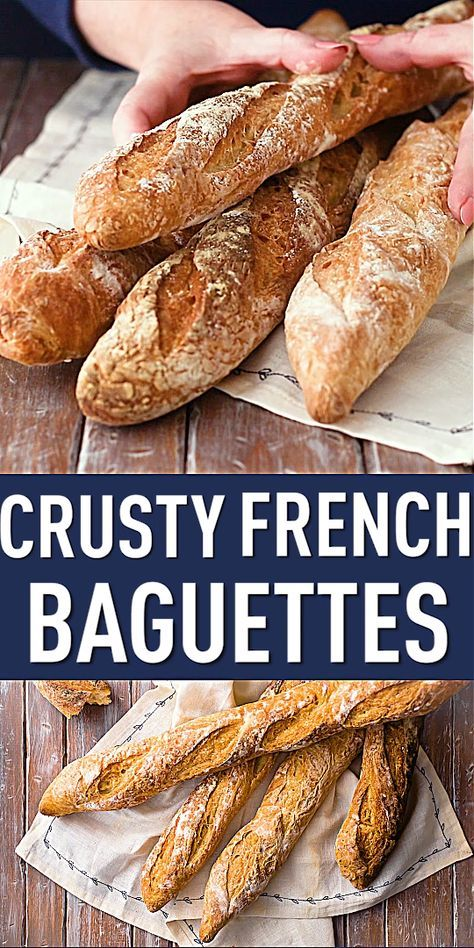 Crusty French Baguettes I could not believe how great these came out And they were pretty easy to make