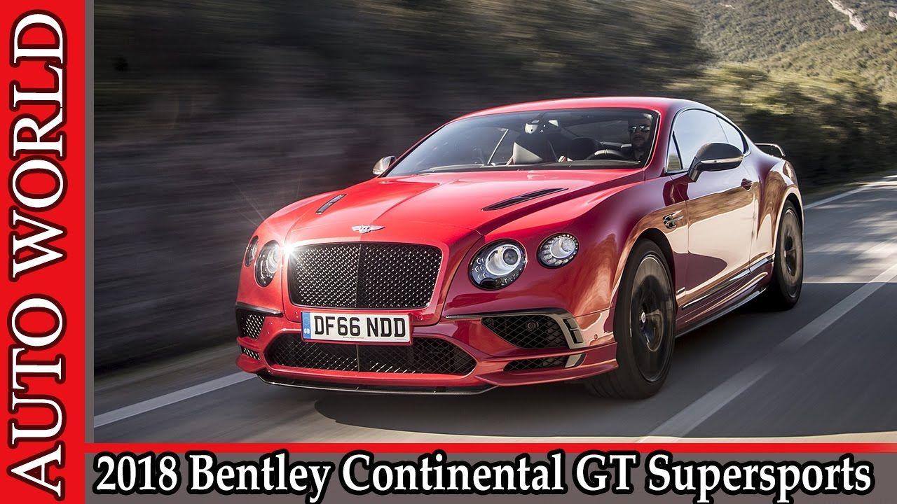ベントレー コンチネンタル Gt · 数字 · 2018 Bentley Continental GT Supersports