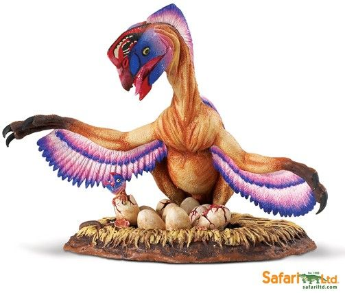 Oviraptor on Nest Model