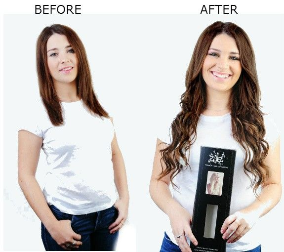 Before and after shot using rich mocha brown in 20 200 gram zala human hair extensions before and after shot using rich mocha brown in 20 200 gram zala clip in pmusecretfo Choice Image