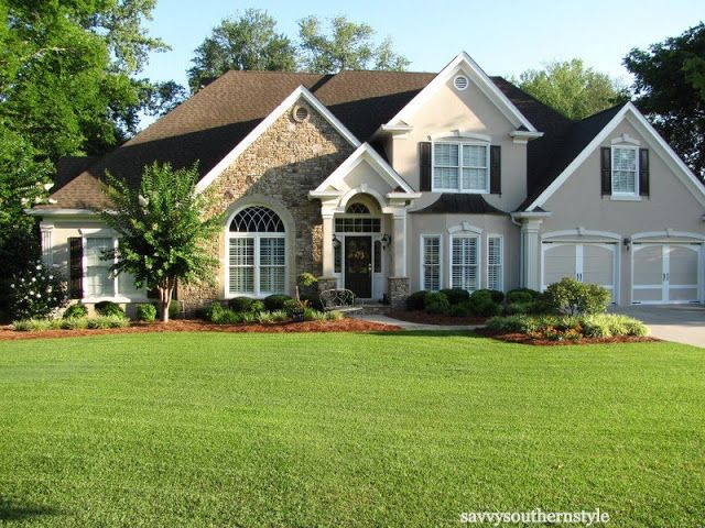 traditional southern style homes - home style