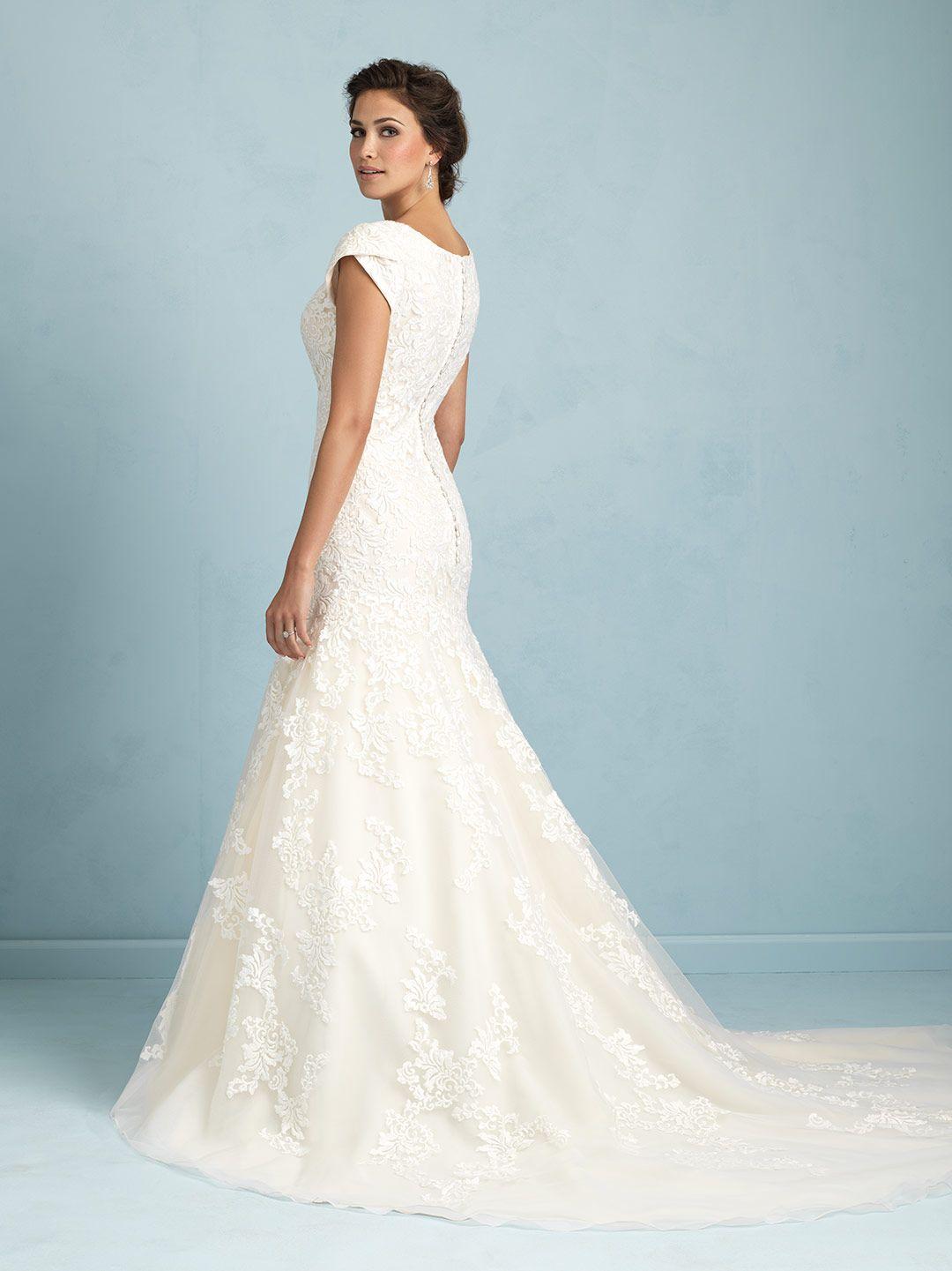 Allure Bridals: M531 | ALLURE M O D E S T | Pinterest | Allure ...